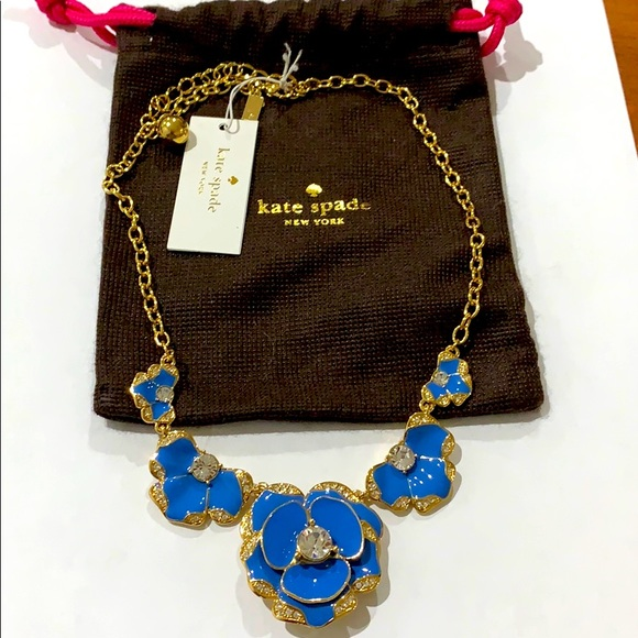 New Kate Spade Beach House Bouquet Necklace
